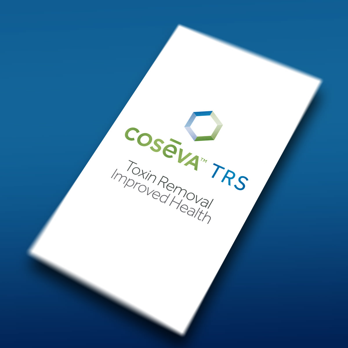 Cosēva TRS for Toxin Removal and Improved Health