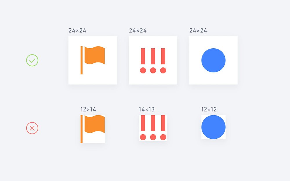Screenshot: Building SVG vector icon set spritesheets