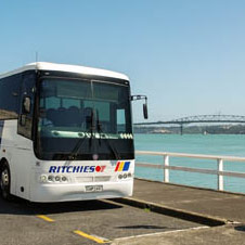 Ritchies touring coaches based throughout new zealand