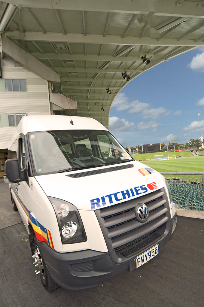Ritchies vehicle charter for sports events