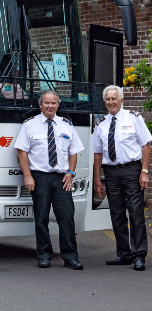 Ritchies coach drivers, experienced and safe