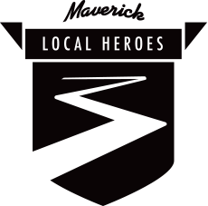 Maverick Local Heroes Logo