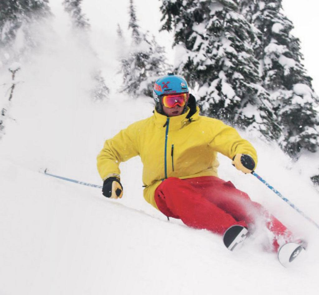 SBA Student Skiing