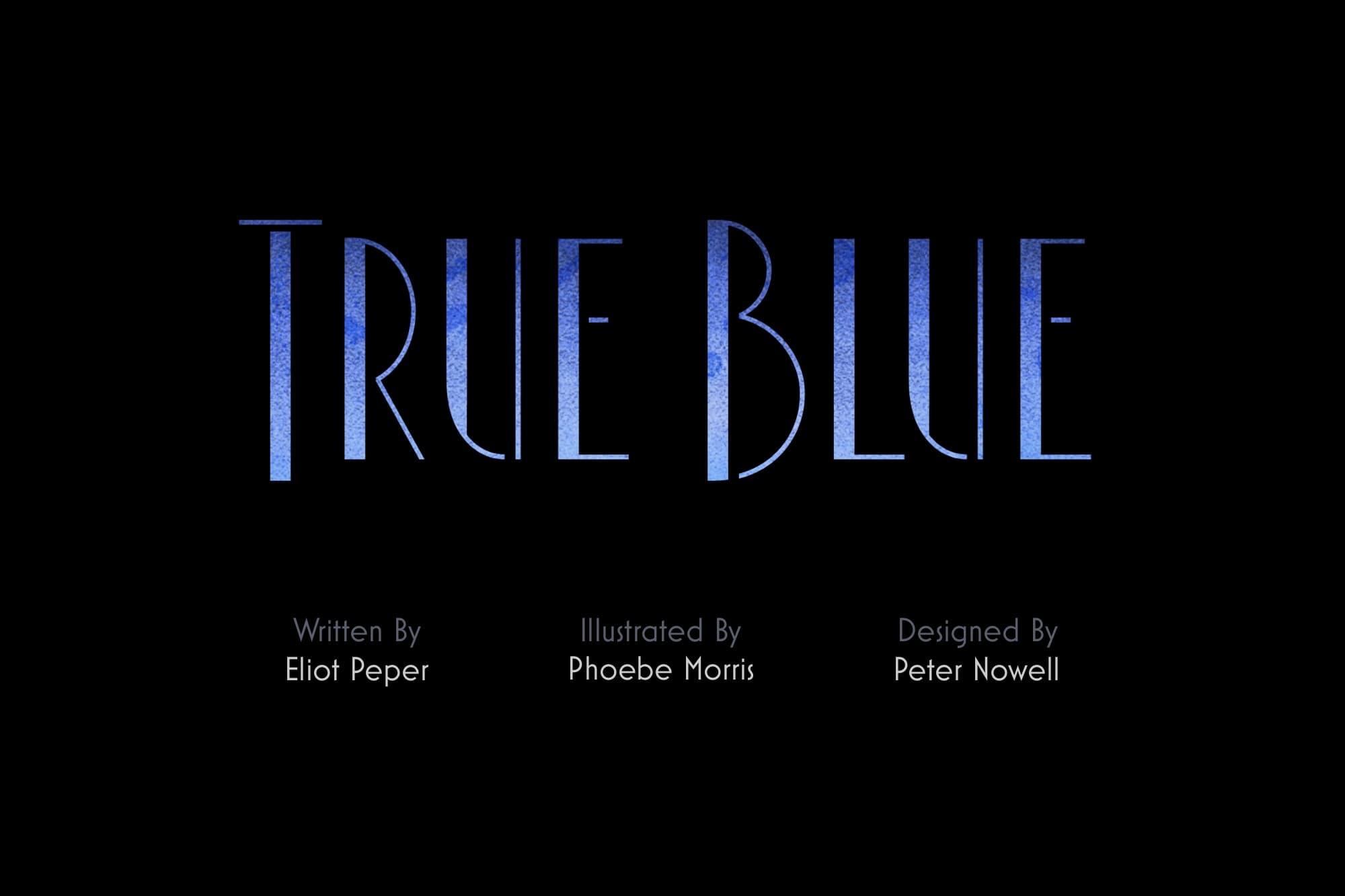 True Blue Story Logo
